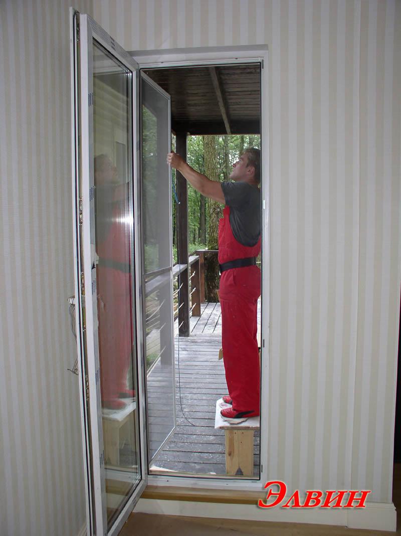 Дверные москитные сетки - производство, продажа, доставка, у.