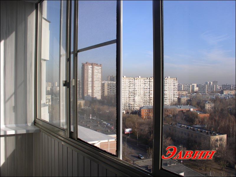 Вставить москитную сетку на балкон. - пластиковые балконные .